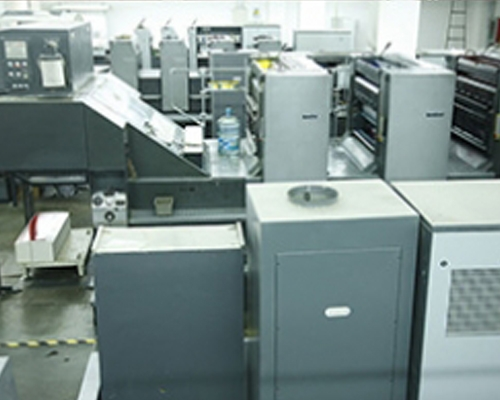 挂历印刷设备