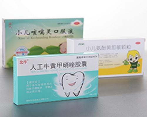 药盒印刷设计